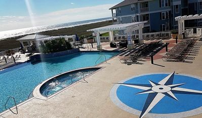 Photo for OCEANFRONT Beach Club Condo - First Row Beach,  Sleeps 6