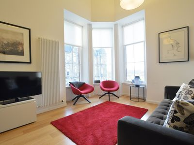 Photo for Luxury Edinburgh Old Town 'Quartermile Development' 3 bed with secure carparking
