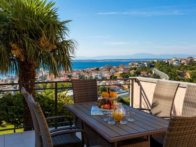 Photo for Holiday apartment with air conditioning and spectacular sea views