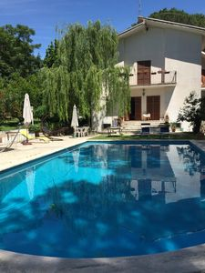 Photo for Villa Cecilia, a villa with swimming pool just steps from Rome
