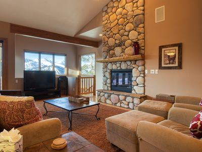 Photo for Large mountain home w/ views, private balcony, & garage - luxurious touches