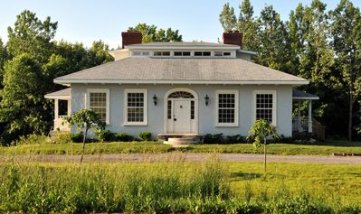 Photo for Historic country home near wineries, beaches, cycling, fine dining and more.