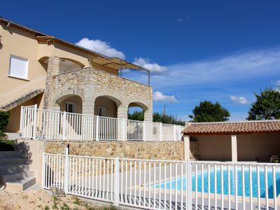 Photo for Villa La Soleillade with private pool from 2 to 10 pers.