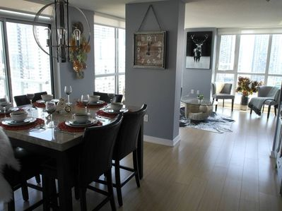 This beautifully decorated 2BR condo has everything you need for a great stay