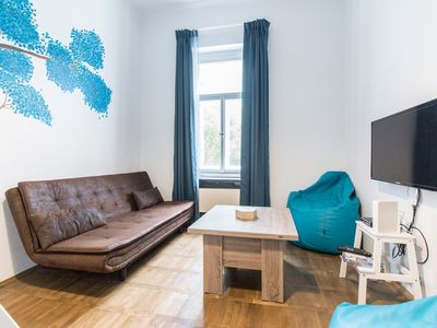 Photo for Apartment 1.2 km from the center of Prague with Lift, Internet (741191)