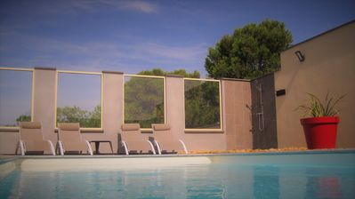 "Photo for Villa ""Le Clos"" 4 people with private pool on 3100 m² of wooded land"