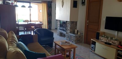 Photo for Charming apartment 50 meters from the beach