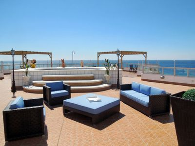 Photo for Apartment mit Pool (TOX160) in Torrox Costa - 6 persons, 3 bedrooms