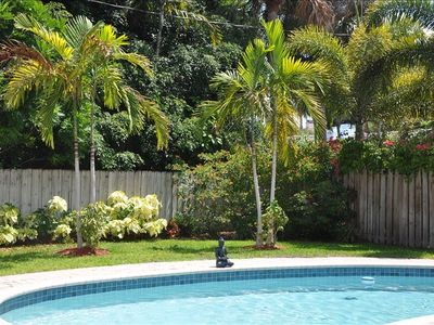 Photo for Beautiful Home with Heated Pool.5 Min Walk to Beach & Las Olas