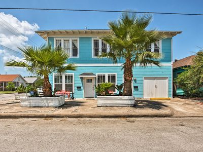 Photo for Updated Galveston Home - Walk to the Beach & Pier!