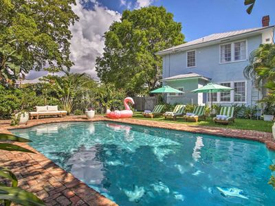 Photo for NEW! Lemon Lounge @ The Citrus Cottage w/ Pool & Covered Porch! Close to beach