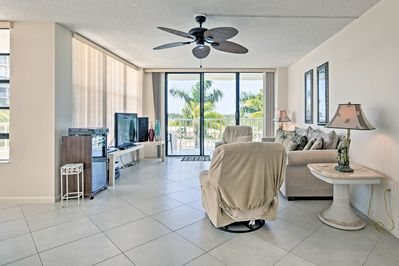 Retreat into the cool interior, featuring 2 bedrooms and 2 bathrooms.