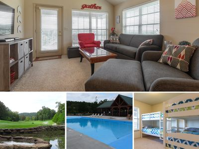 Photo for OPEN 7/18-20, 8/5-9 Minutes from SDC! Family condo w/ bunk beds in StoneBridge!