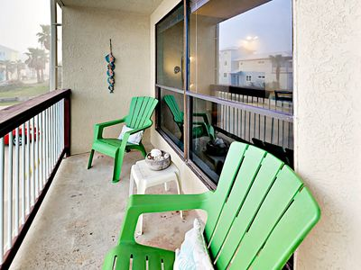 Balcony - Step out onto the balcony and breathe in the fresh coastal air.