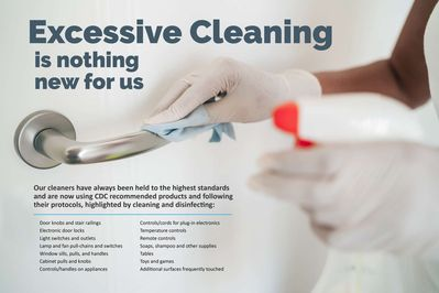 CDC Compliant Cleaning Products and Protocols