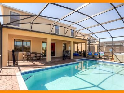 Photo for Providence Resort 3 - villa with private pool & themed bedrooms near Disney
