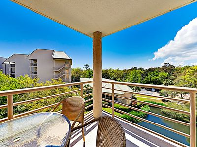 Photo for New Listing! Oceanfront Condo w/ Hot Tub, Pool & Balcony - Boardwalk to Beach