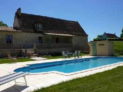 Photo for In Périgord Pourpre, traditional Perigord house with all mod cons and a pool
