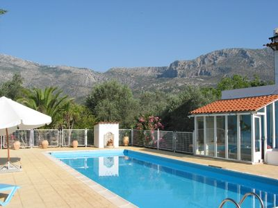Photo for Villa St Patrick-secluded villa 3 Bedroom , private pool & tennis court