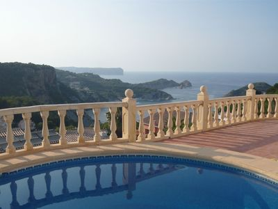 Photo for Villa with stunning sea views in Javea