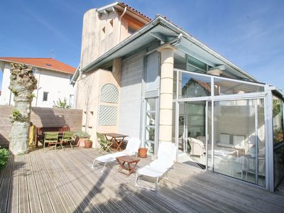 Photo for 3CH, 6 PER, BEACH AND SHOPS ON FOOT, TERRACE 57 M², PARKING, WIFI,