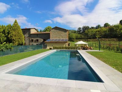 Photo for Part of old farmhouse with private pool in stone for max 5 people. Good Value for money. Province of
