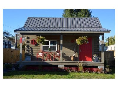 Photo for Tiny Peace of Zen. Amazing fenced backyard w/ grill area! Close to breweries! Pet friendly!