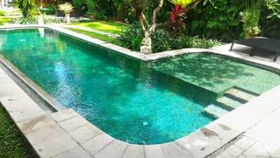 Photo for 3 Bedroom Seminyak Oasis, Private Pool, Large garden