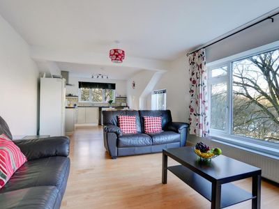 Photo for Apartment between the trees, near the river and the beach of Looe