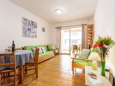 Photo for El Faro Apartment. Spacious, bright apartment in a quiet building