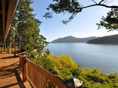 Photo for Exquisite Orcas Island Custom Home with Private Beach