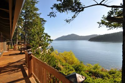 Welcome to Deer Point Paradise!  You're finally here and the views are spectacular from all angles.