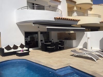Photo for Magnificent Modern House mooring 12M, Private Pool, internet, free wifi.