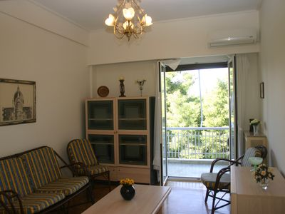 Photo for NICE APARTMENT IN THE CENTER OF ATHENS WITH PARK VIEW