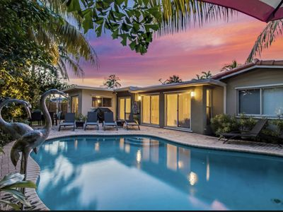 Photo for Secluded gem with a designer touch located in the heart of Fort Lauderdale