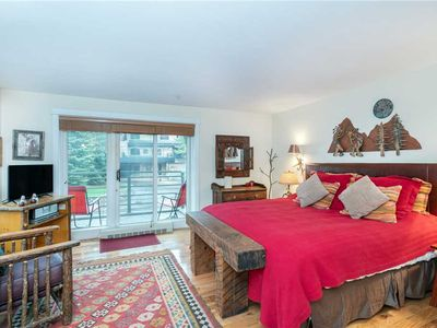 Photo for King Hotel Room With Balcony, Kitchenette, Great Mountain Village Location