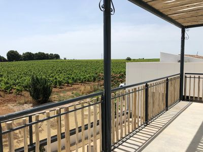 Photo for Large house in the heart of organic vineyards