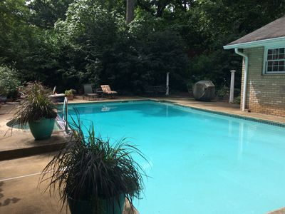 Photo for SECLUDED/SATIETY FIRST/COVERED PARKING/GARDEN FEEL/EASY ACCESS - AIRPORT/MIDTOWN