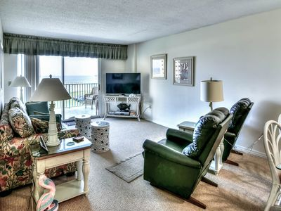 Photo for NEW! Waterfront Plantation Palms condo w/shared pool & hot tub, walk to beach
