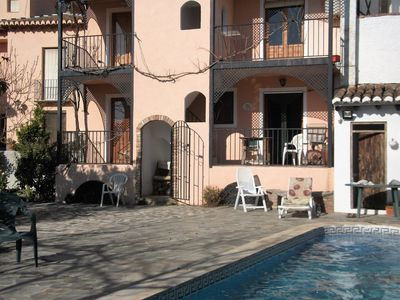 Photo for Holiday home,  Pool & WiFi in Lecrín. Charming apartment, Granada/Costa Tropical