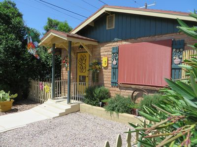 Photo for LA CASITA: Charm/Privacy, Stunning Patio, Continental Breakfast, pet friendly