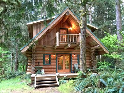 Photo for Snowline Cabin #10 - Log cabin at its best! Free Wi-Fi! - Two Bedroom Chalet, Sleeps 8