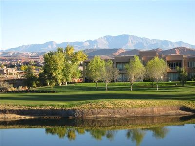 Photo for Blackrock Condo on Golf Course with a View