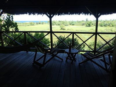 Photo for Citronella Lodge, sea and rice views