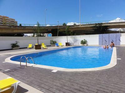 Photo for Apartment praia da rocha portimao 60M2 Algarve with pool, parking