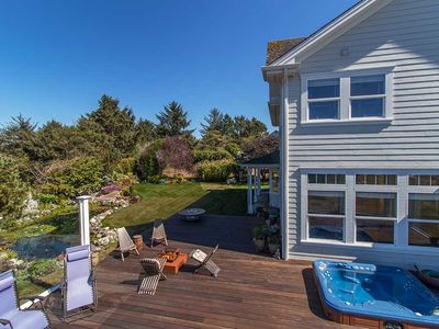 Photo for Garden Pond-Ocean views, hot tub, ~September Deal ~25% percent off!