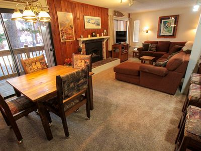 Photo for Mammoth Ski and Racquet Club #28 Cozy One bedroom with two full bathrooms
