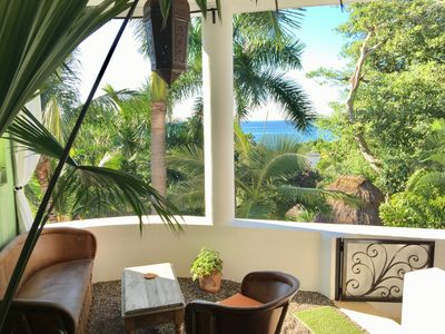 Photo for Gorgeous Mexican Beach-style Loft Nestled Among Palms w/filtered Ocean Views