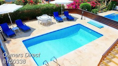 Photo for 2 Bedroom Villa With Private Pool In The Heart of Coral Bay & Car Not Required.