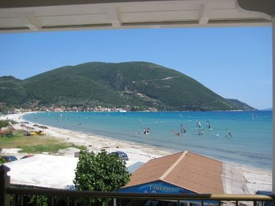 Photo for Luxury Beach Villa /Apartment, Waterfront, Sea Views Vassiliki Lefkada